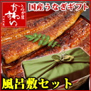 Father day gift wrapping domestic oversized unagi Kabayaki × 1 book and broiled cuts x 2 piece set