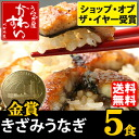 Carve unagi no Kabayaki × 5 food sets!