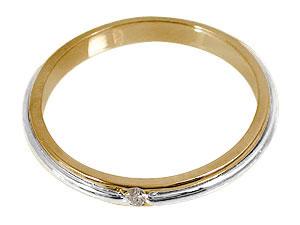 指輪,天然ダイヤモンド0.03ct
