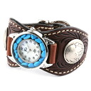 Watch mens leather leather KC, s ケイシイズ: resabreswatch Espanola free cut turquoise