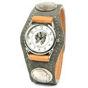 Watches mens Womens elephant leather leather leather KC, s ケイシイズ: resabreswatch 3 Concho elephant