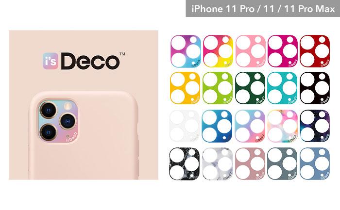 [iPhone 11 Pro/11/11 Pro Max専用]EYLE i's Deco カメラホールカバー