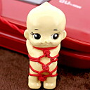 Q pole P Ray (? _★)?! Shibari you kewpie cell phone strap (red) (compatible) fs3gm