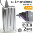 Smartphone trunk type mobile battery 5800mah (compatible)