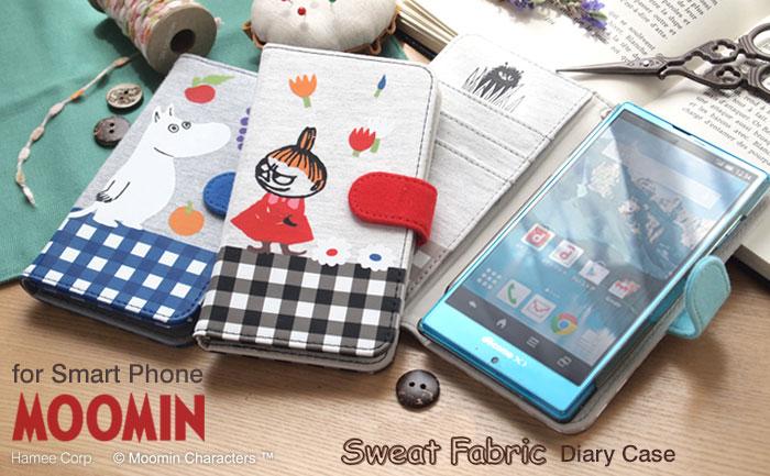 ムーミン Sweat Fabric ダイアリーケース マルチタイプ/Mサイズ