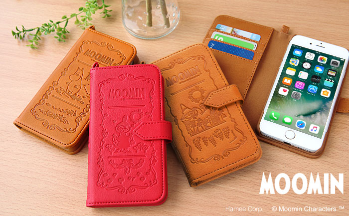 iPhone7 ムーミン 手帳型