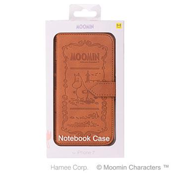 ムーミンノートブックケースパッケージ