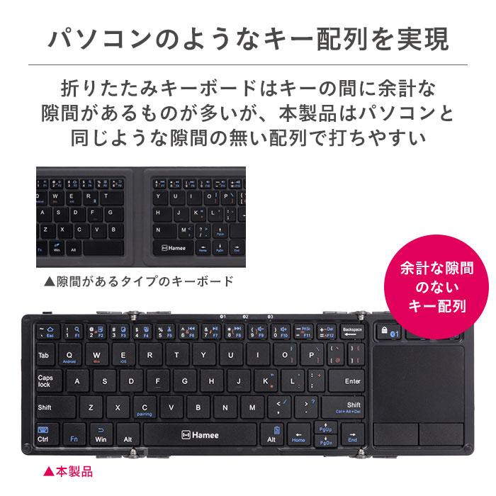 パソコンのようなキー配列