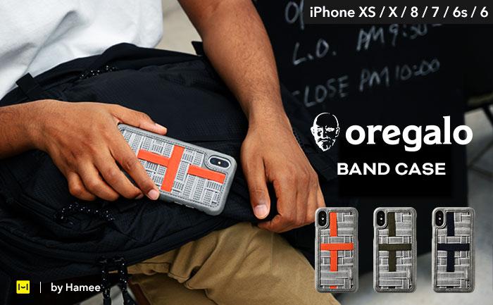 [iPhone XS/X/8/7/6s/6専用]oregalo(オレガロ) Band Case