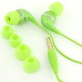dropインナーフォン♪カラフルでドロップのようなイヤホン(グリーン)