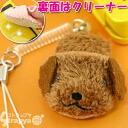 パペクリーン ★ mini-slippers mobile phone cleaner strap (toy poodle )NR0060-5) to hit how
