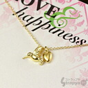 [DOGEARED]신작・드개드쥬에리넥크레스(행복의 벌새) Love & Happiness Gold Dipped on Silver Necklace