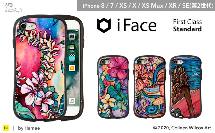 [iPhone 8/7専用]コリーンウィルコックス/Colleen Wilcox iFace First Classケース