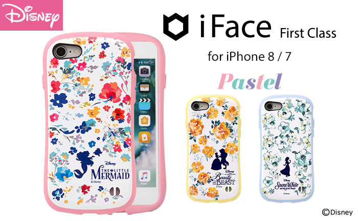 [iPhone 8/7専用]ディズニーキャラクターiFace First Class Pastelケース