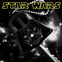 [STARWARS ☆ Star Wars] key cover ball chain (DARTHVADER= dozen Vader) SWKEY-04