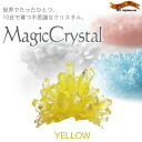 "It is ""ニョキニョキ"" and very mysterious crystal ★ magic crystal yellow to grow up in only ten days"