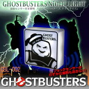 Even the slightest vibration will not miss! Automatic light-light ★ film Ghostbusters Nightlight GHOSTBUSTERS NIGHT LIGHT (MARSHMALLOW MAN - puft) GBL-002