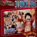 Electronic money Ejacket one piece Monkey D Luffy and friends