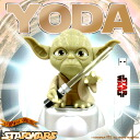 Face turns red, glowing lightsaber! USB YODA (Yoda) 0940