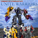 "[Booking: late August: ""transformer unit warriors UW02 menazole'"