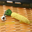 Vegetable miniature mascot (Japanese radish)