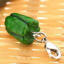 Vegetable miniatures mascot (green pepper)