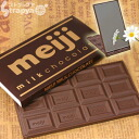 A mirror of Meiji chocolate (milk chocolate type) real チョコソックリ chocolate mirror ☆
