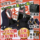 Kendo armor set 5 mm stab Zhu sound-inden style tits leather 'red and white Kozakura' giveaway