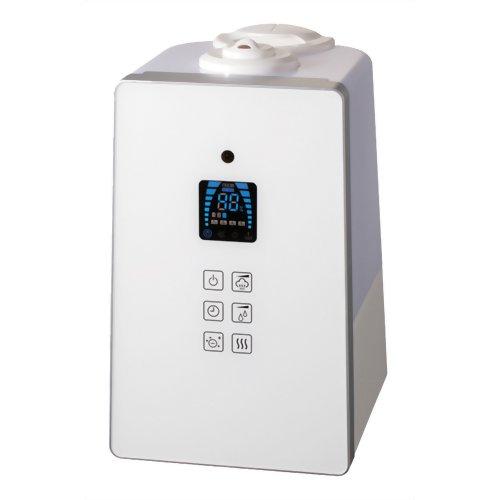 AL COLLE(アルコレ) ハイブリッド加湿器 リモコン付き ASH-601/W ホワイト
