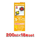 200 ml of KIBUN Co., Ltd. soy milk fruit mixture paper pack x18 book