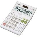CASIO (CASIO) Calculator (12-digit) DW-200T-N standard calculator desk type white