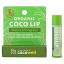 [cocowell, cocowell organic Coco lip (fresh lemon grass) ( organic cocolip lip balm coconuts oil