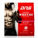DNS (deeyenues) protein Hey 100 / Strawberry flavoured 1 kg mass intake-protein (whey protein /WHEY100 / muscle Tre / 1000 g/4571419811311)