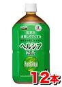 Flower King healthya green tea 1 Lx 12 bottles (1 case) fs3gm