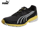 PUMA (PUMA) complete rising J [186125 01] (black / dark shadow / Buttercup / white) return replacement: none