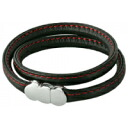 • Rakuten Eagles victory congratulations! ▼ ▼ points up to 82 times champions sale! ▼ ERG double leather bracelet genuine leather erg bracelet doubleleather black/red B10008fs3gm.