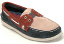 SPERRY TOP-SIDER Authentic Boatshoe navy red Sperry-トップサイダーオーセンティック ボートシューネイビー / red (TS