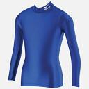 미즈노 바이오 기어 셔츠 (하이 넥 긴 소매) 주니어 용 [블루] [A35BS90024] (스포츠 웨어/트레이닝 웨어) upup7