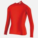 미즈노 바이오 기어 셔츠 (하이 넥 긴 소매) 주니어 용 [레드] [A35BS90062] upup7