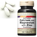 ▼ 4 times only ♪ points up to 30 times! 5 / 10 20: start-until 23:59 ▼ LIFE STYLE (lifestyle) calcium & magnesium & zinc 100 tablets into tablets (calcium / zinc / supplements / supplement / Zn/mg) (late sorry mother's day gift gifts health)