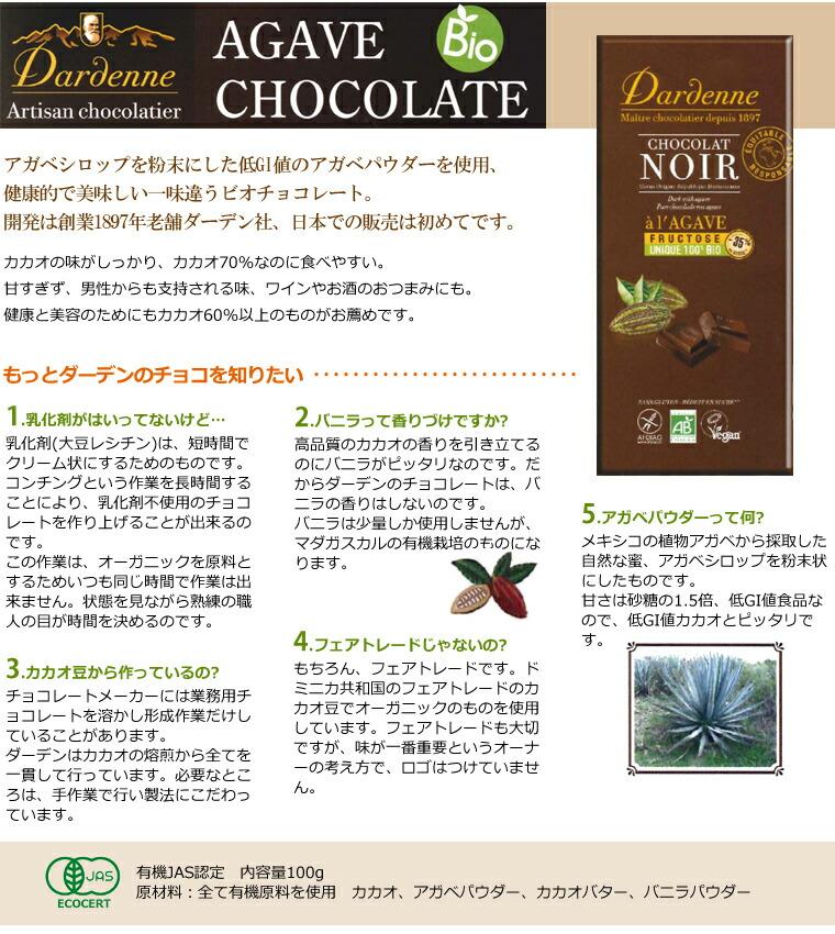 アガベチョコレート