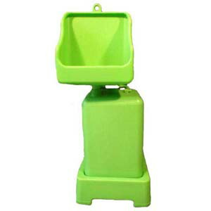 小便専用下抜き簡易排水仮設トイレ