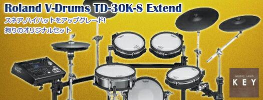 ローランド 電子ドラム V-Drums TD-30K-S Extend