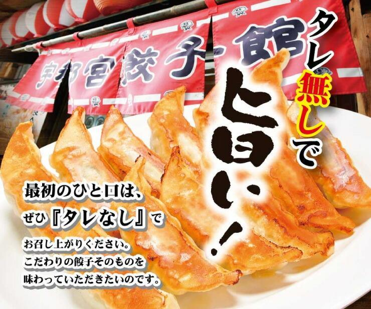 宇都宮餃子会加盟。タレ無しで旨い、健太餃子!