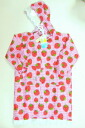 Kids raincoats Strawberry 120 size 10P06jul10