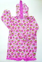 120.130 kids raincoat strawberry size 10P06jul10