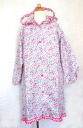 110.120 kids raincoat floret size