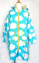 120.130 kids raincoat sky blue size 10P06jul10