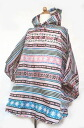 Ethnic kids poncho size 110-130 02P01Mar15
