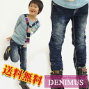 "Korea kids clothes DENIMUS REVOLUTION embroidery cutting denim 6300 yen (tax incl.) or more ""fashionable キッズミオ? t 110 cm 120 cm 130 cm-140 cm in the purchase's 150 cm-160 cm"